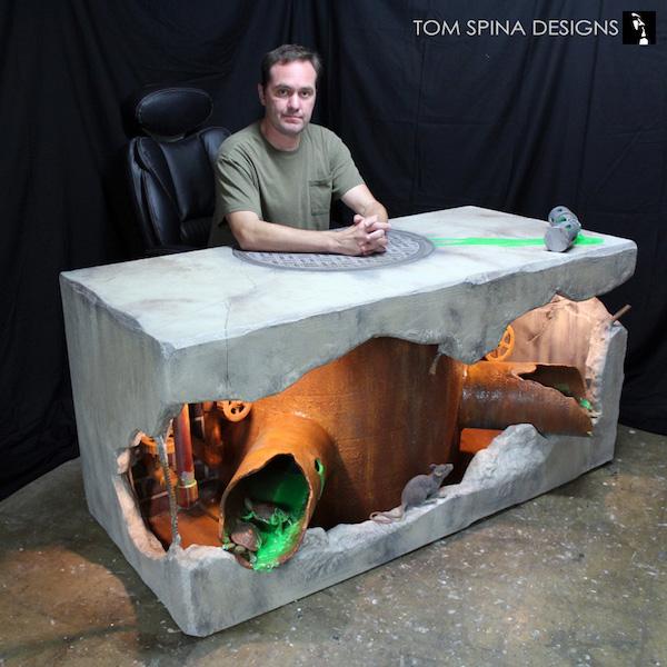 Teenage Mutant Ninja Turtles Sewer Desk