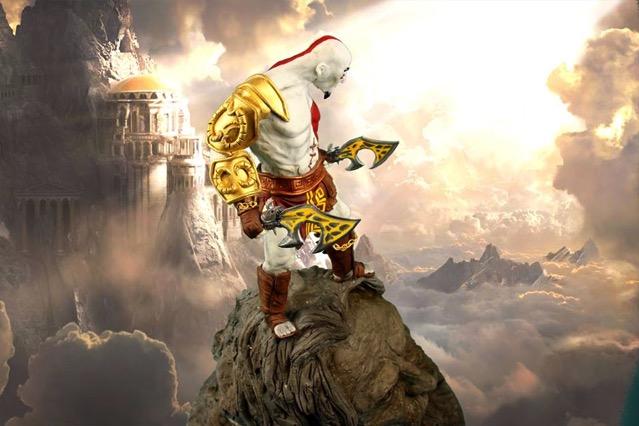 Kratos God of War Cake