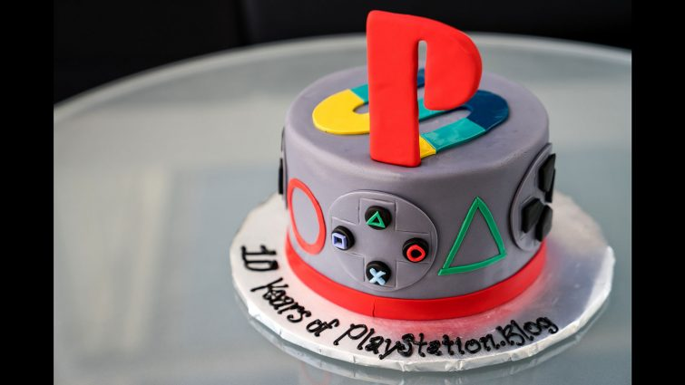 PlayStation Cake