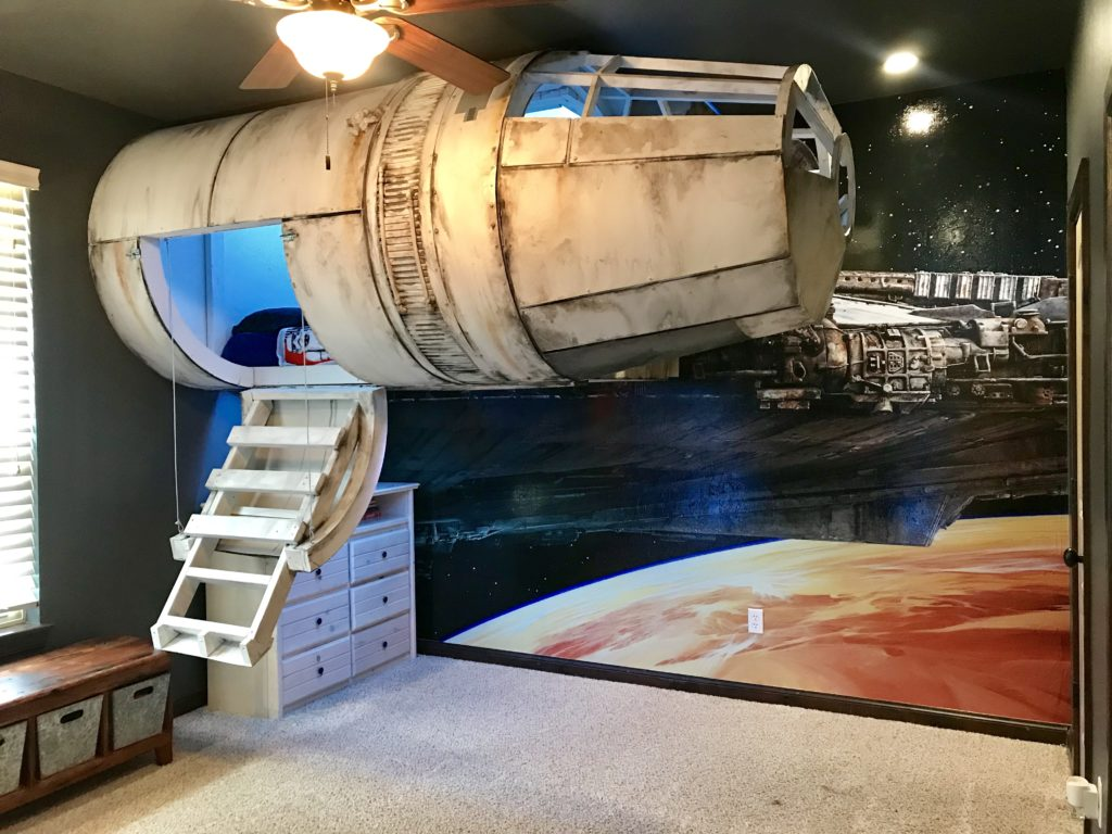 Star Wars Millennium Falcon Bedroom