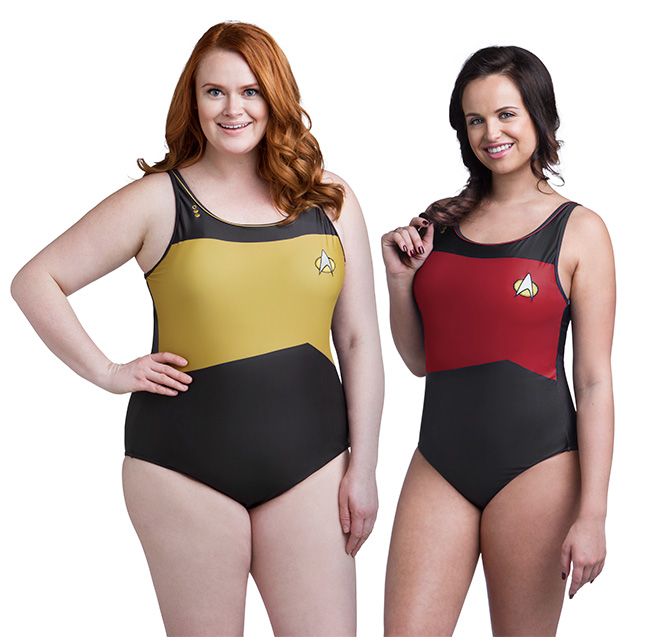 Star Trek TNG One-Piece Swimsuit