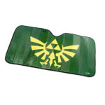 Keep your car cool with this Legend of Zelda Hylian Crest Sunshade