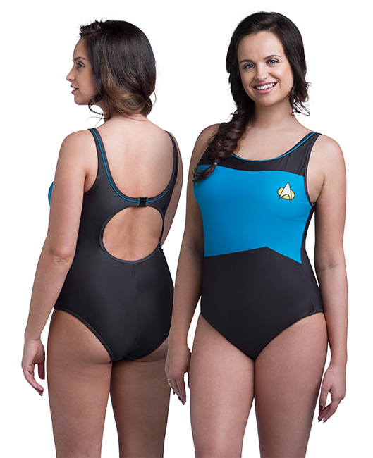 Star Trek TNG One-Piece Swimsuit Back