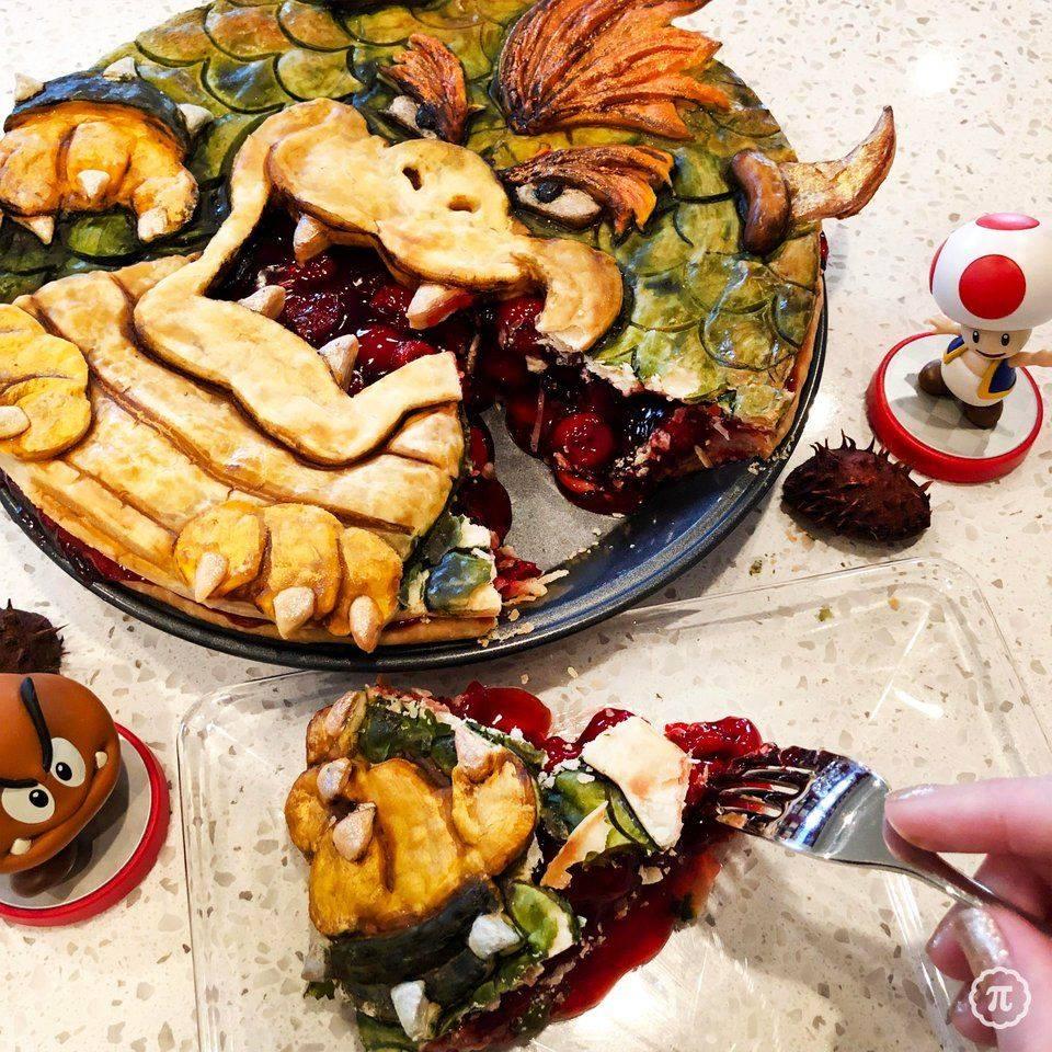 Bowser Cherry Pie