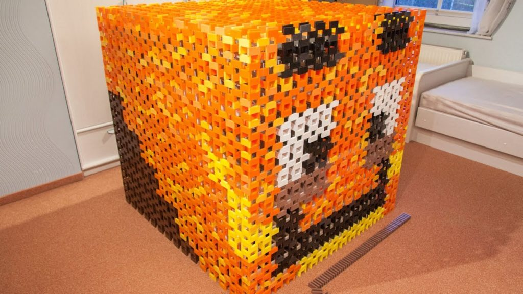 Minecraft Domino Cube