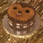 Adorable Star Wars Chewbacca Cake