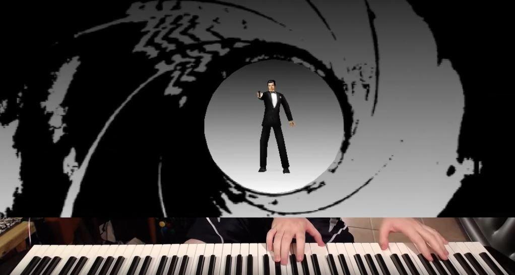 GoldenEye Piano Controller