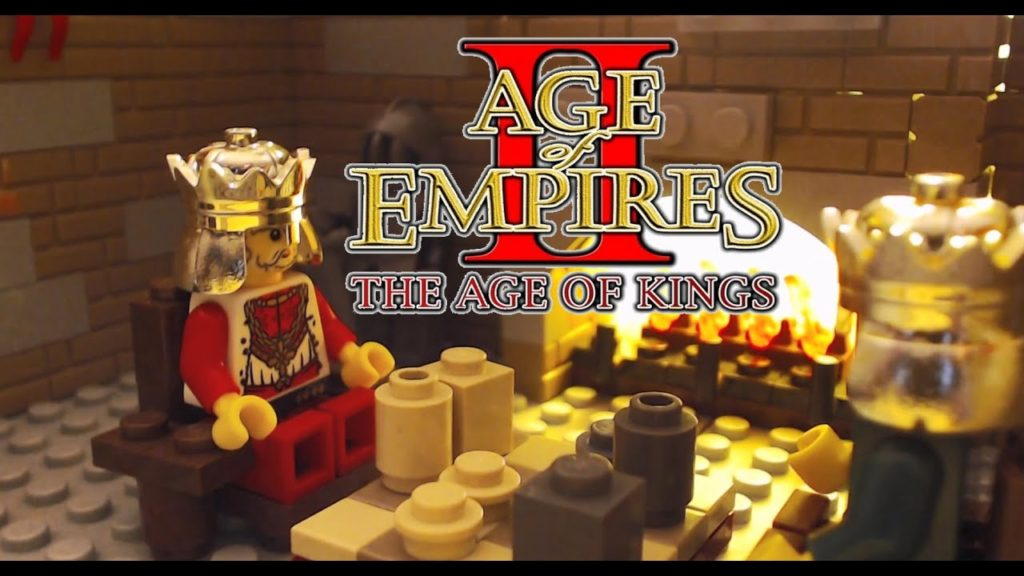 Age of Empires 2 Opening Cut-Scene Recreated in LEGO
