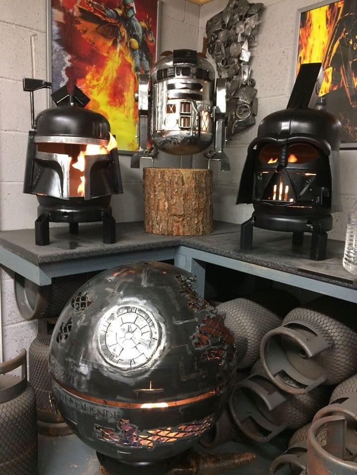 Star Wars Fire Pits