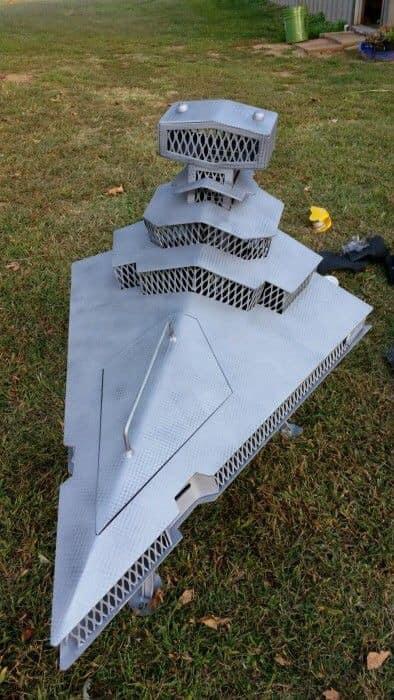 Star Wars Imperial Destroyer Fire Pit