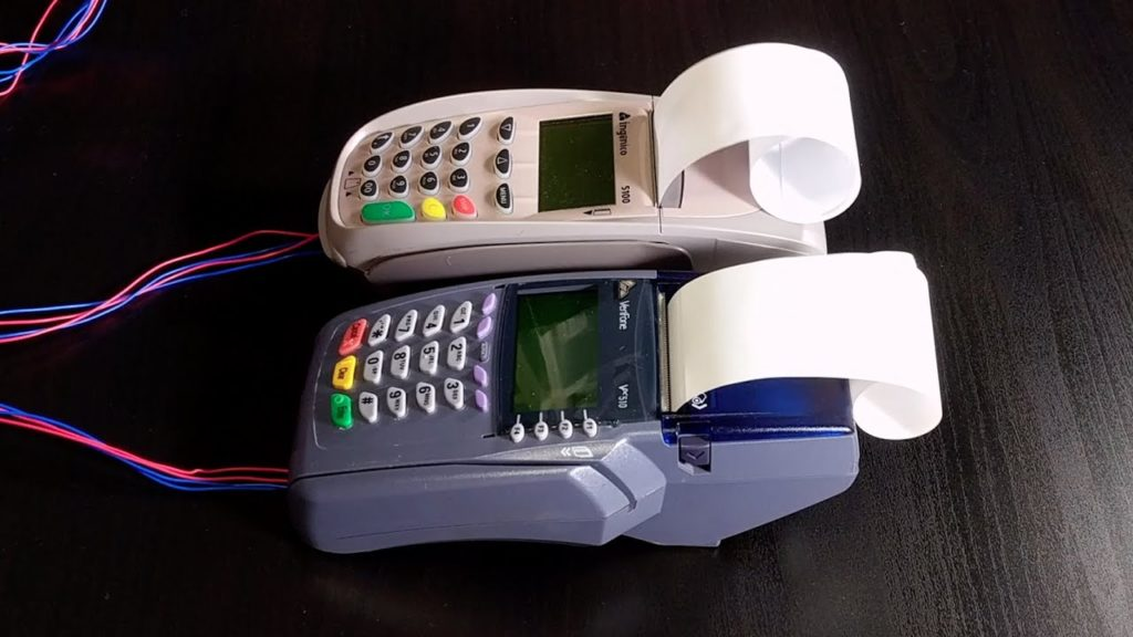 modified Credit card machines