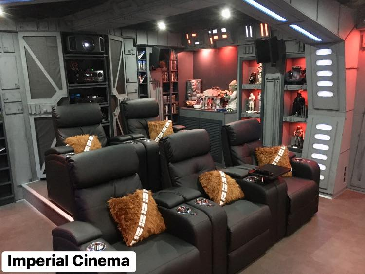 Star Wars Home Theater Imperial Cinema