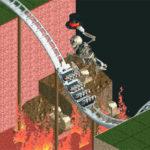 Rollercoaster Tycoon Synced to Bohemian Rhapsody