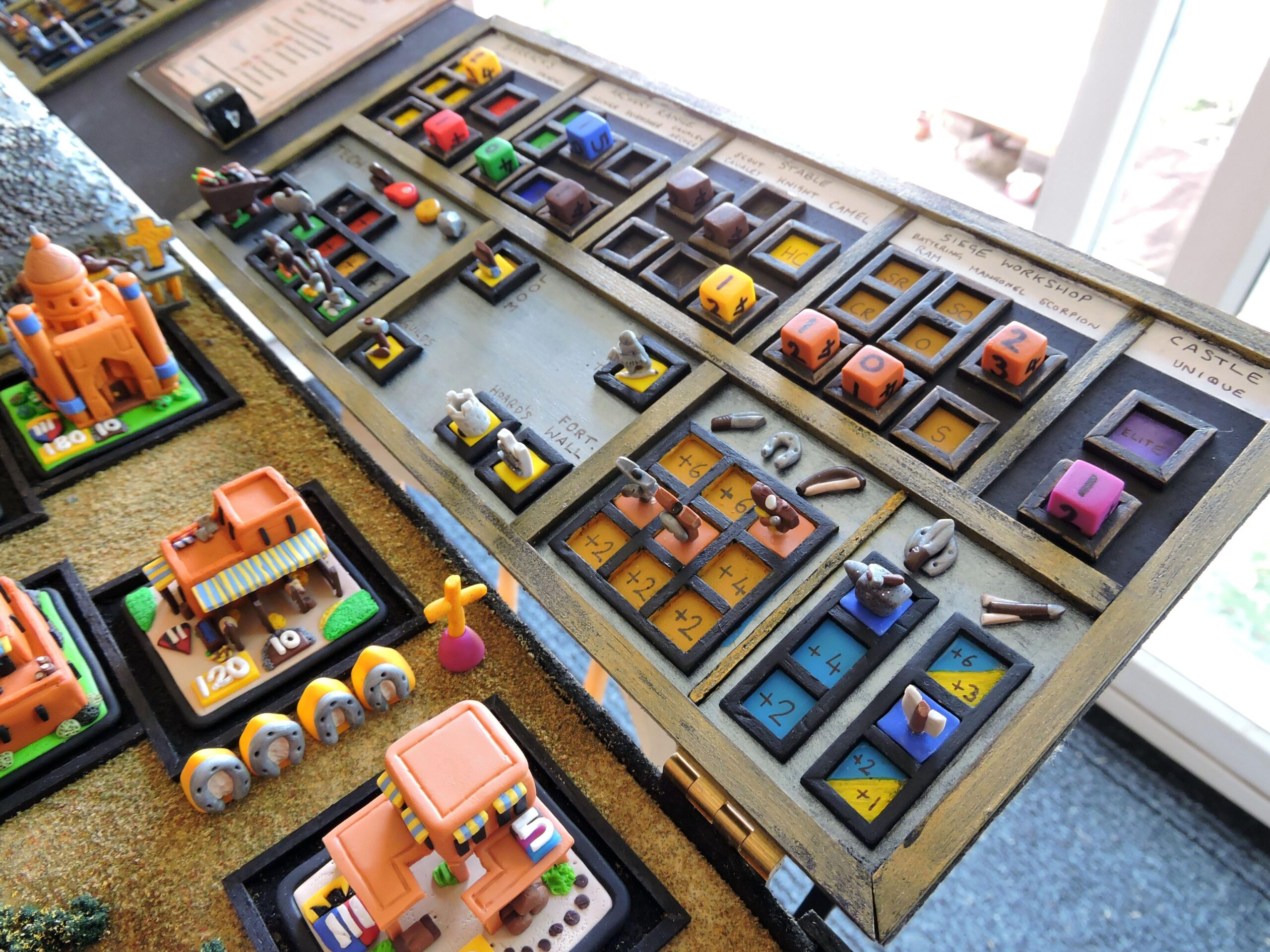 Age of Empires Board Game Control Panel