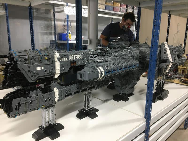LEGO Halo Frigate